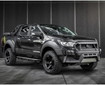 Боковые подножки Carlex Design Terrain для Ford Ranger